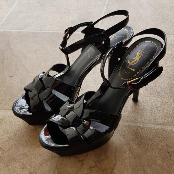 ysl tribute low heel sale cheap online